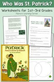 saint patrick worksheets for 1st 3rd graders mamas learning corner