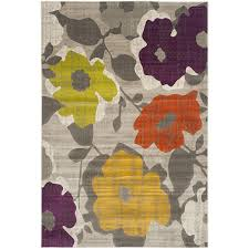 Gray And Yellow Rugs Amazon Com Safavieh Porcello Collection Prl7726c Grey And Yellow