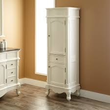 bathroom white wooden corner mirror bathroom storage cabinet