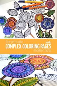 download free complex coloring pages coloring hand