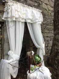 tende in perfetto stile shabby chic shabby chic ideas