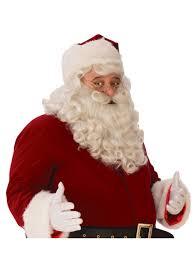 santa beard mens ultra premium santa beard and wig