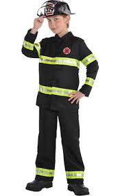 toddler boys reflective firefighter costume party city