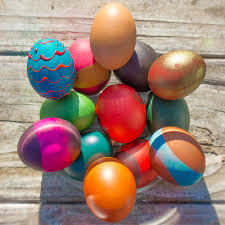 easter eggs decorated pictures ways to decorate real easter eggs crafting a green world