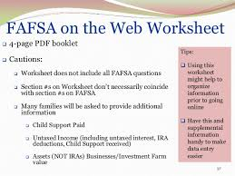 financial aid basics presentation 2013