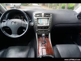 lexus sedan 2007 2007 lexus is 250 awd navigation niche wheels for sale in