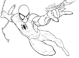 spiderman coloring pages 2 amazing spiderman coloring