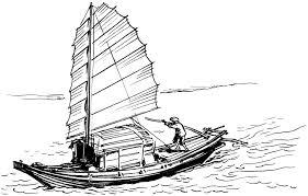 lloyd u0027s blog drawing of sampan