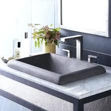 Trough Sink Bathroom Vanity Sinks Unusual Vessel Sinks Designer Sel Native Trails Arti