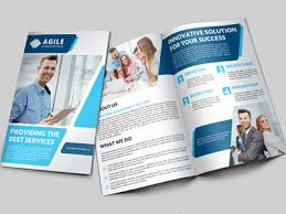 2 fold brochure template creative corporate bi fold brochure vol 27 by jason lets just