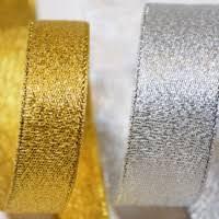 metallic ribbon metallic ribbon ribbonbazaar