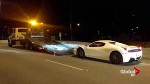 police ferrari west vancouver police impound ferrari clocked at 210 km h on lions