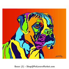 boxer dog doormat boxer dog gifts art dog portraits and dog paintings