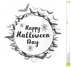 happy halloween banner happy halloween calligraphy halloween banner stock vector