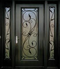 decorative wrought iron front doors inserts toronto 416 887 9391