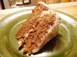 walnut carrot cake with cream cheese frosting vegan gluten free