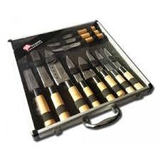 couteaux de cuisine pradel pradel excellence valise de 11 couteaux type japonais nc pas