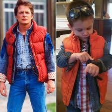 Marty Mcfly Costume See Kids Dressed Up As Famous Movie Characters 4 First For Women