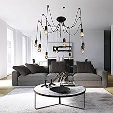 Modern Dining Room Light Fixtures Lightinthebox Vintage Edison Ajustable Diy Ceiling Spider
