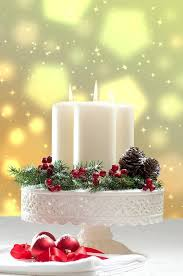 White Christmas Centerpieces - christmas candle decorations christmas pinterest christmas