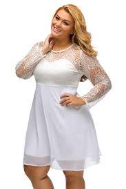 plus size lace top dress gaussianblur