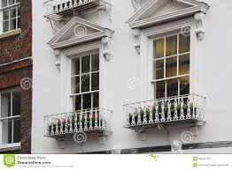 old english tudor style decor windows stock photo image