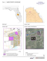 Lakeland Florida Map Fpu Campus Master Plan 2015 2025 Straughn Trout Architects