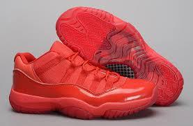 all red rings images Nike jordan cap new york air jordan 11 low men 39 s all red six jpg