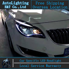 opel insignia 2015 car styling led head lamp for opel insignia headlights 2014 2015