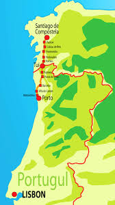 Camino Frances Map by Camino De Santiago Walk