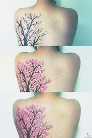 beautiful tree design cool ink and tree