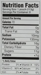 Nutrition Facts Label Worksheet Happy Baby Organic Stage 2 Baby Food Simple Combos Broccoli
