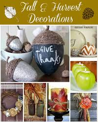 harvest home decor diy ideas building our story