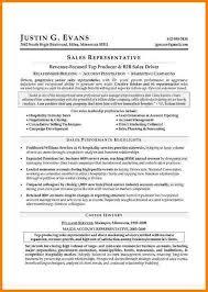 Resume Best Format by Best Sales Resume