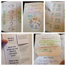 force and motion interactive notebook inb pages kesler science