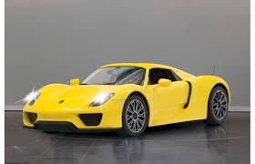 Porsche Macan Yellow - porsche 918 spyder 1 14 yellow jamara shop