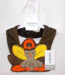 unisex baby s my thanksgiving turkey bib pilgrim ebay