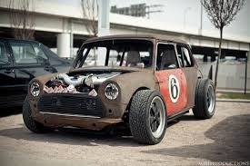 mini cooper porsche friday the tachyon mini cooper stance is everything