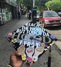 graduation cap covers these latinx graduation caps are woke af