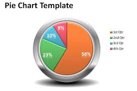 Excel Chart Templates Free Creative Pie Chart Template For Powerpoint Presentations