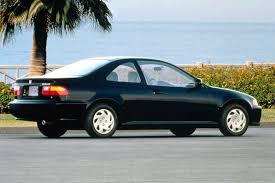 96 honda civic 2 door coupe 1992 95 honda civic consumer guide auto