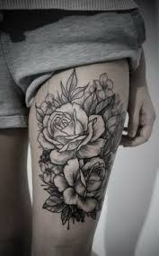 the 25 best flower tattoos on thigh ideas on pinterest