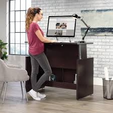 Sit To Stand Desk Sauder Select Sit Stand Desk 422358 Sauder