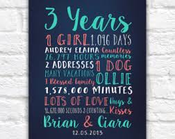 anniversary gift any year personalized gifts for anniversary 3
