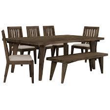 city furniture casablanca dark tone rectangular table 4 chairs