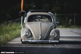 volkswagen beetle modified black rags to riches saving a u002757 oval then slamming it speedhunters