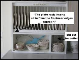 Under Cabinet Dish Rack Diy Project How To Build Your Own Plate Rack Cabinet Hubpages