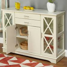 sideboards inspiring white kitchen buffet cabinet white buffet