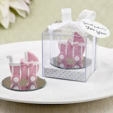 christening party favors 25 pink baby carriage figurine baby shower christening party favor