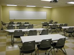 college classroom interior design